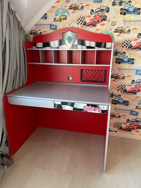 Детская мебель Cilek racecup: кровать машина стол этажерка шкаф