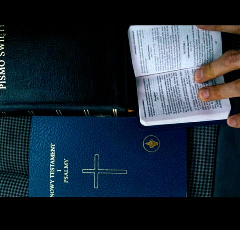 Biblia Pismo Święte, Nowy Testament plus Psalmy. Możliwa WYSYŁKA.