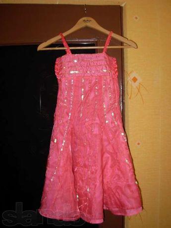 Нарядное платье, 5-6 лет