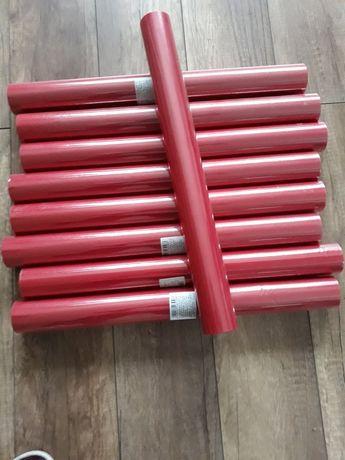 Tiul w rolce 50cm czerwony