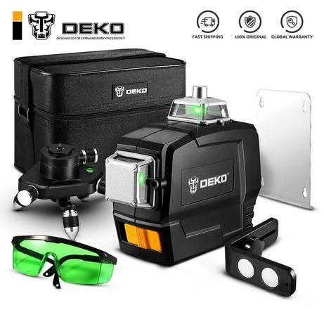 Deko 3D 12 линий лазерный уровень нивелир