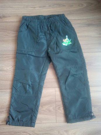 Spodnie narciarskie/ ocieplane zimowe rozmiar 104 cm