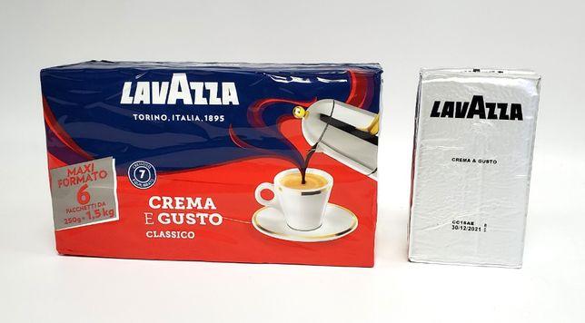 Итальянский кофе Lavazza Cremae Gusto, 6х250гр внутренний рынок Италии