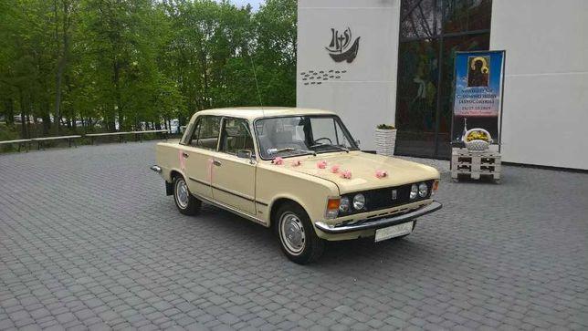 Auto do ślubu - Fiat 125p z 1976r.