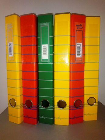 6 dossiers de arquivo A4 Ancor com 6 separadores de cartolina