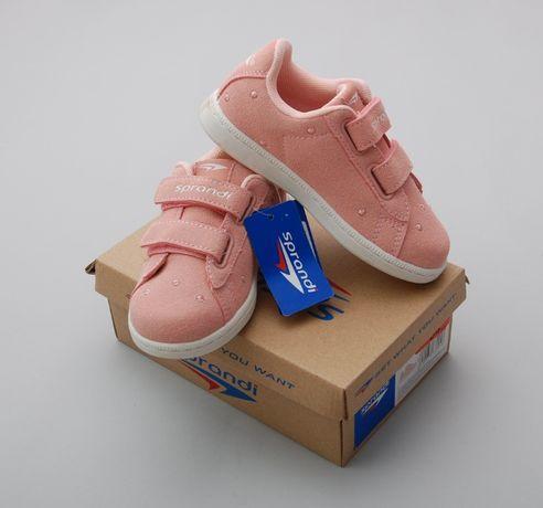Кроссовки девочке Sprandi осенние спортивная брендовая обувь Польша р