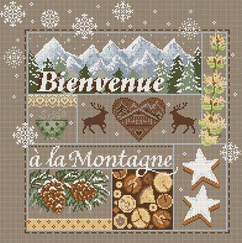 Madame la Fee Добро пожаловать в горы, схема, сэмплер