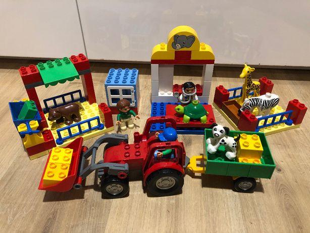 LEGO Duplo Szpital dla zwierząt 6158 i Duży traktor 5647