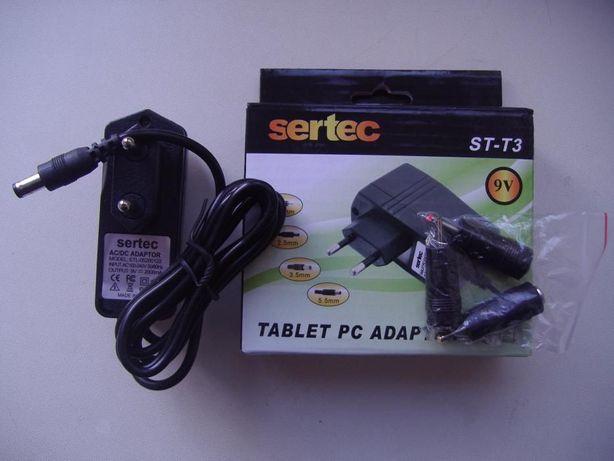 Зарядное устройство СЗУ для планшета 9V 2A (универсальное) 4 штекера