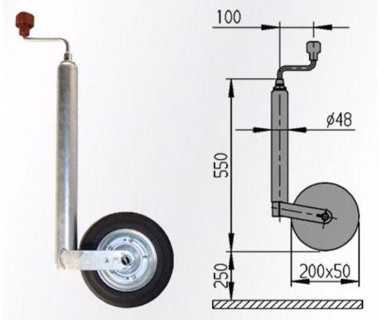 Опорное колесо,откаточное колесо,хомут,для прицепов