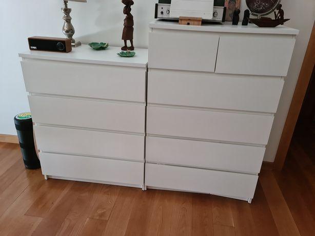 2 Móveis/Cómoda com gavetas IKEA