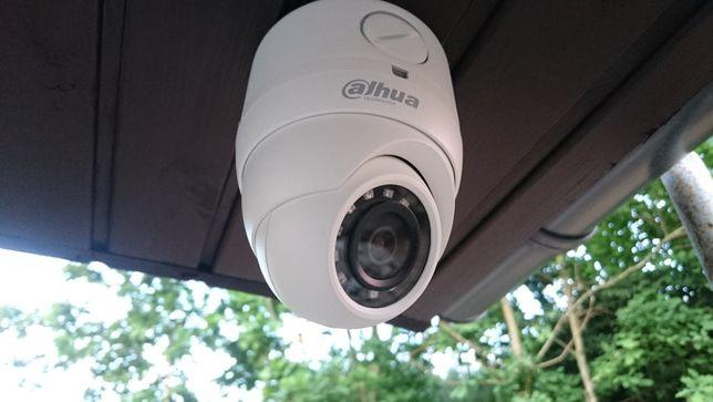 Monitoring Kamera Kamery Rejestrator 5mpx Pełny zestaw z montażem 2400