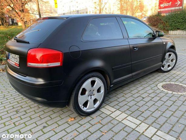 Audi A3 1.6 Benzyna 115KM Czarny Mat Klima Alu Nowe opony Stan Bardzo Dobry