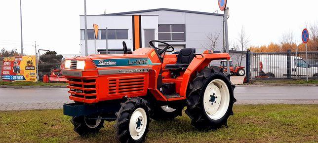 Kubota L1-205,Mini traktor,ciągnik,ogrodniczy,do folii JAPAN TRAK