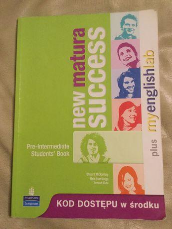 My Matura Success Pre-Intermediate podręcznik używany język angielski