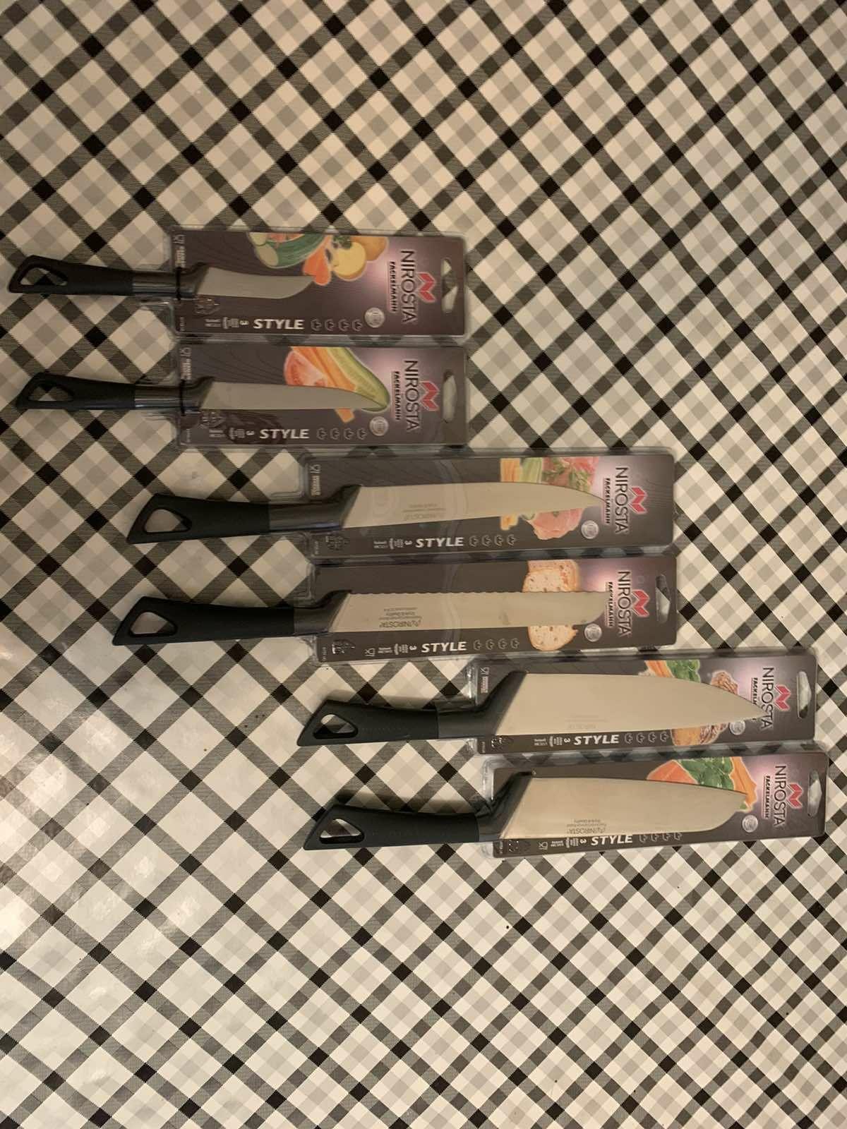 """Набір із шести ножів""""Nirosta"""""""