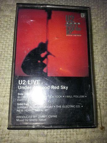 """Kaseta U2 LIVE """"Under a blood red sky"""""""