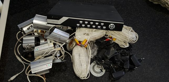 Sistema de videovigilância VISORTECH H.264