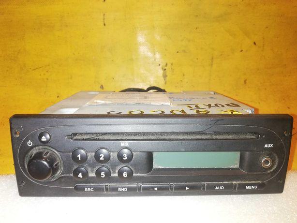 radio CD/AUX+kod Renault Kangoo 2 Twingo 2 r.08>