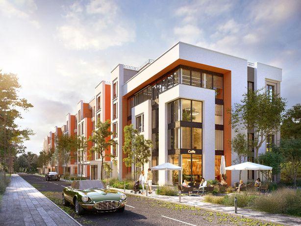 Продается 2 комнатная квартира в малоэтажном доме с панорамными окнами