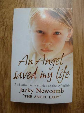 książka po angielsku An Angel saved my life - Jacky Newcomb