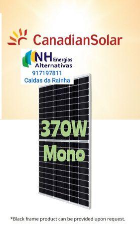 Canadian Solar 370W Painel Fotovoltaico Mono Monocristalino Half Cell