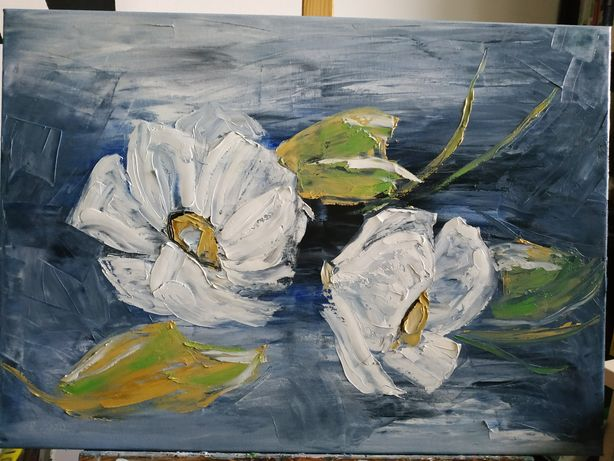 Obraz olejny 70 x 50 cm na płótnie