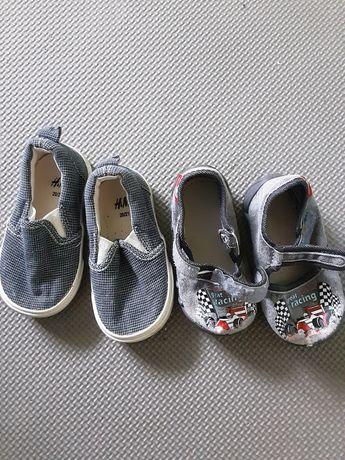 Buty dziecięce, trampki, kapcie , na rzep. H&M 20/21 Renbut