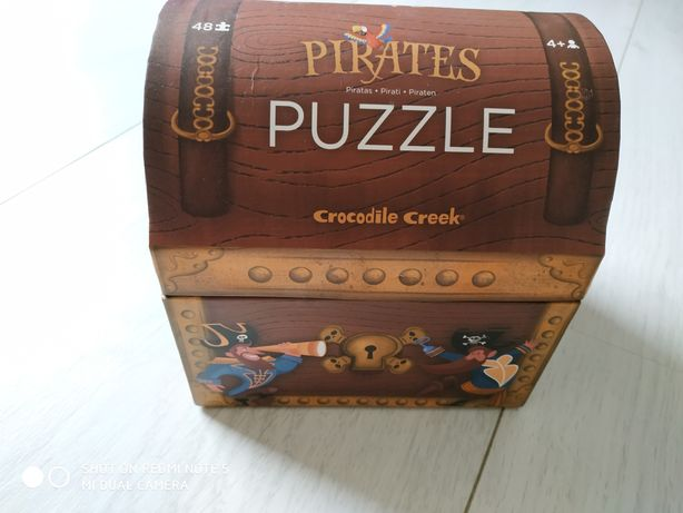 Puzzle Piraci Crocodile Creek