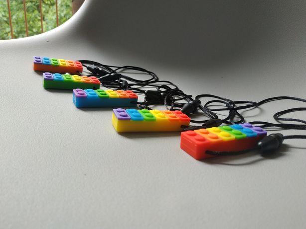 Gryzak logopedyczny LEGO