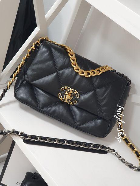Модная кожаная женская сумка клатч Шанель. Натуральная кожа.