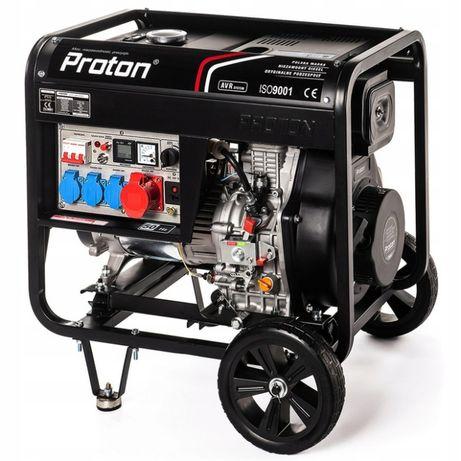 Agregat prądotwórczy 400V 8,5 kVA - AVR Diesel oszczędny