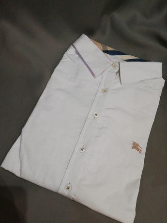 Piękna koszula biała slim fit burberry S M L XL 36. 38. 40. 42