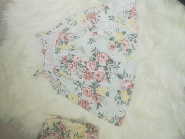Śliczna bluzeczka newbie rozmiar 74