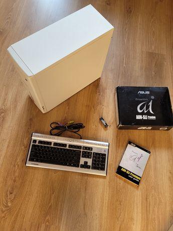 Części komputerowe PC, Asus, klawiatura, RAM
