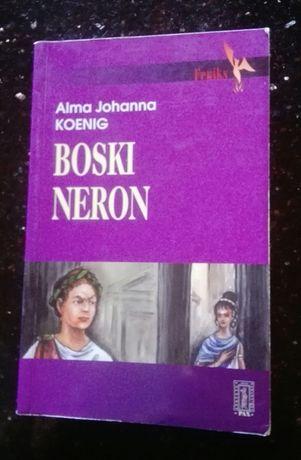 Boski Neron Alma Johanna Koenig, powieść