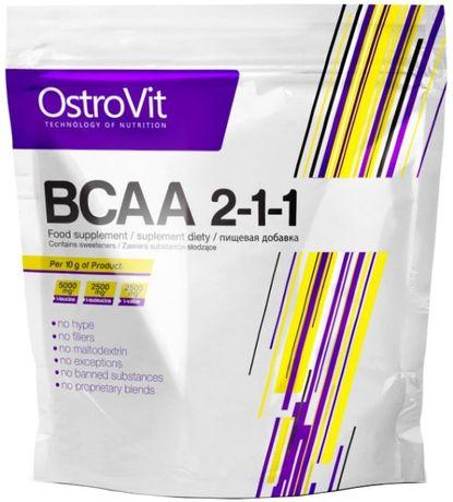 Ostrovit BCAA 2-1-1 -400gr-80 порций(л-карнитин,протеин,бцаа)