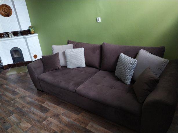 Duża sofa rozkładana GASPAR II MEGA LUX 3DL