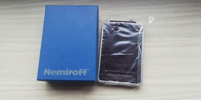 Etui na karty kredytowe skóra NOWA Nemiroff edycja limitowana okazja