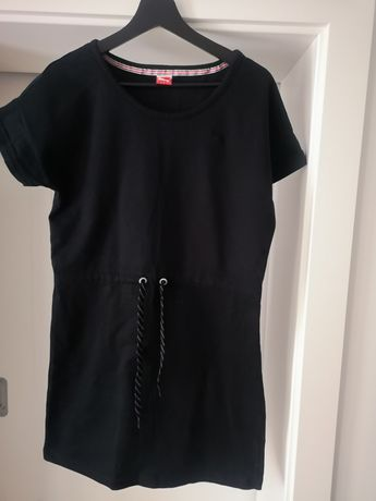 Sukienka dresowa czerna puma