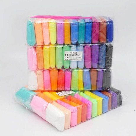 Повітряний пластилин 36 кольорів