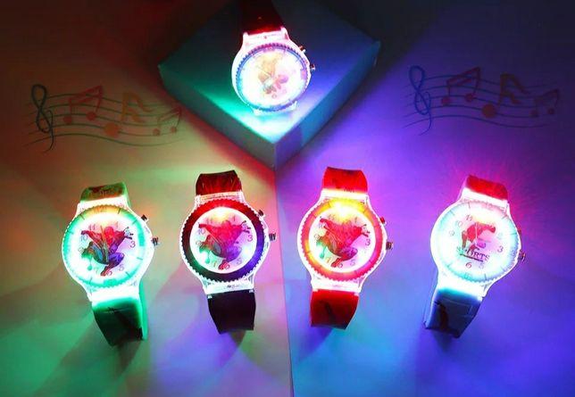 Zegarki Spiderman świecące z muzyką!!!