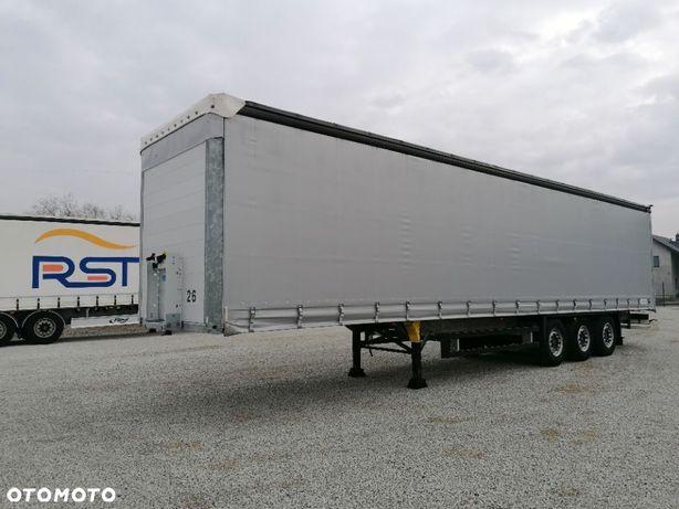 Schmitz Cargobull SCB*S3T  SPROWADZONA, kod XL, koło zapasowe, ROZSUWANY DACH, firanka
