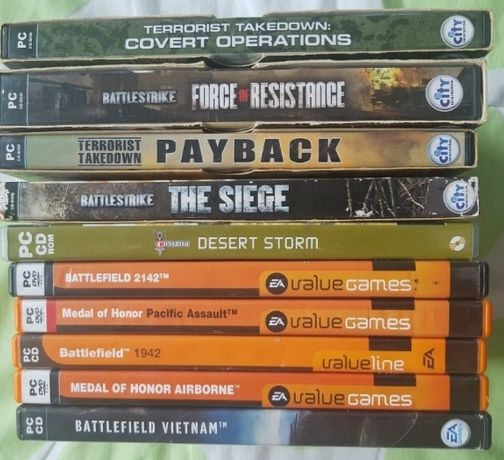 Jogos para PC antigos de 2002 a 2007