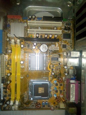 Материнка Asus P5GC/1333, 775 сокет