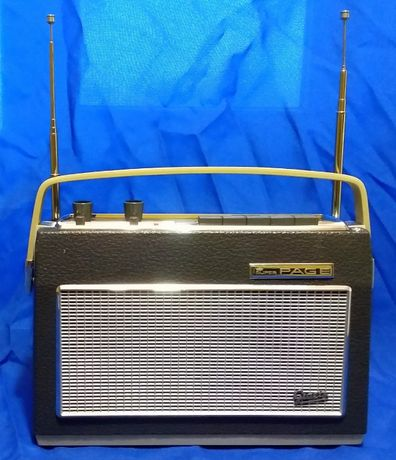 Graetz Superpage 1336 Немецкое Транзисторное Радио 1964 г / Схемы и Оп