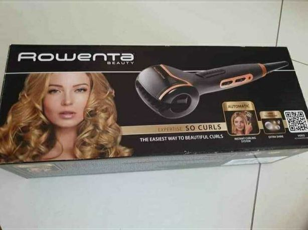Modelador cabelo Rowenta Expertise Só Curls