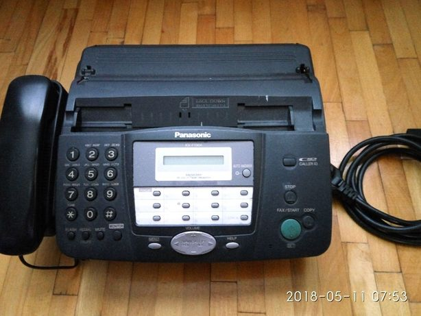 В ЛУГАНСКЕ продаю телефон- факс PANASONIC