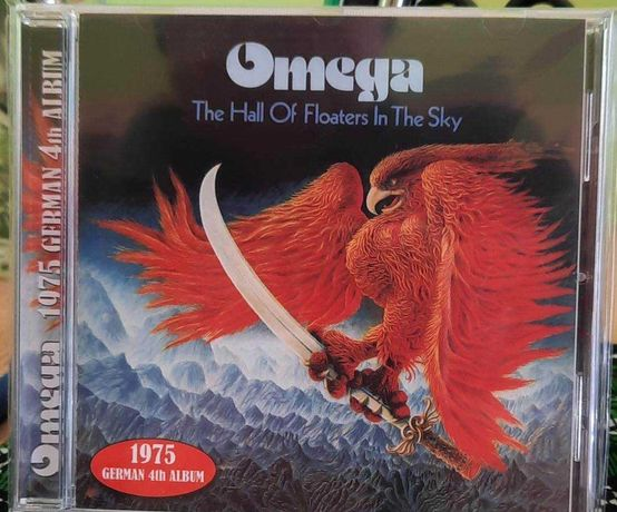 CD OMEGA- The Hall Of Floaters In The Sky . Progresive Rock 70's.