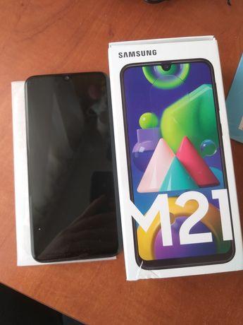 telefon Samsung m 21 czarny